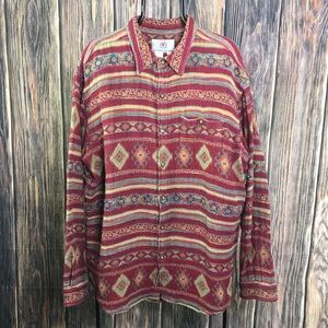 The Territory Ahead Aztec South West Button Down